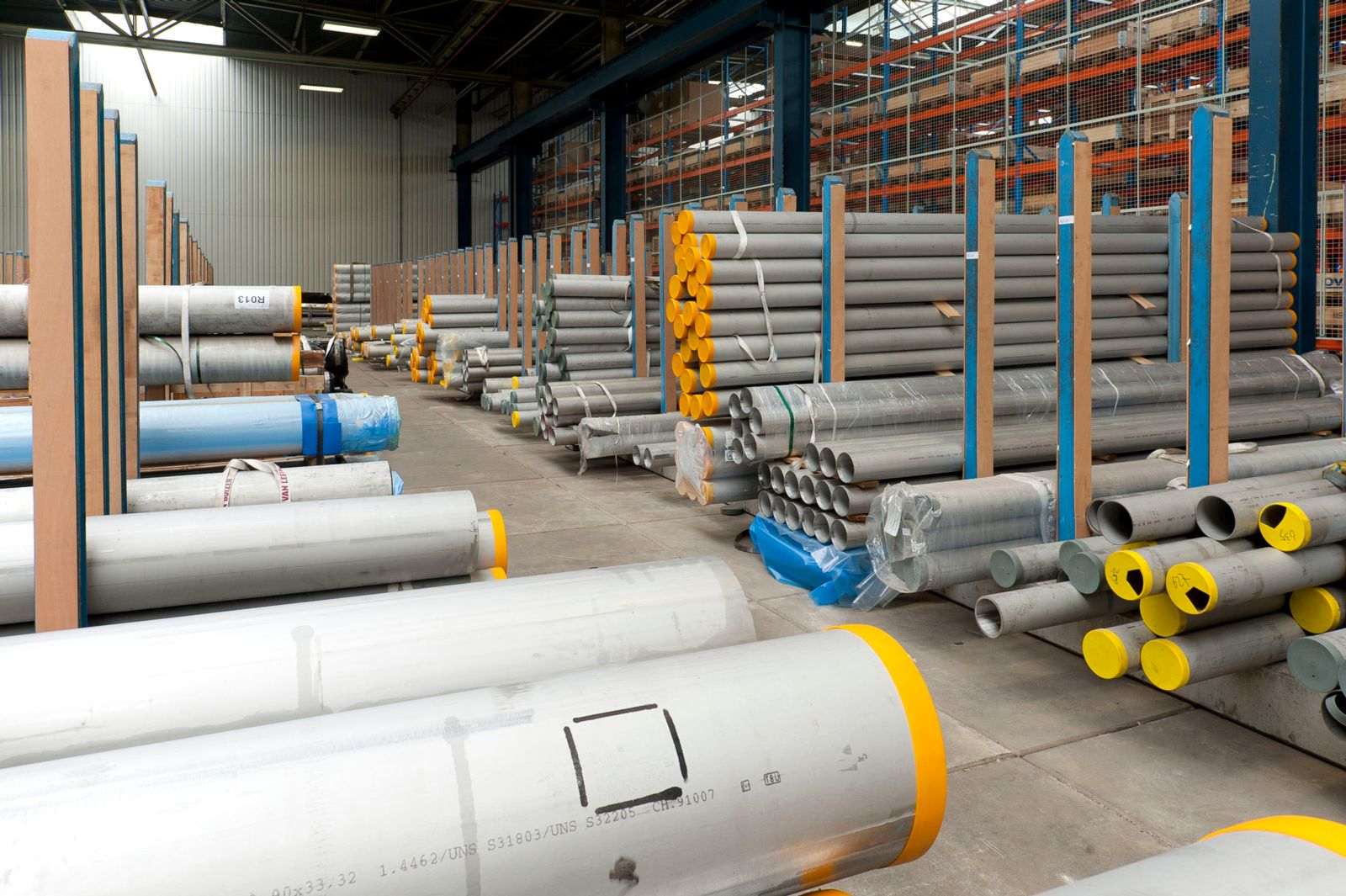 Super duplex stainless steel pipe and tube teuling staal